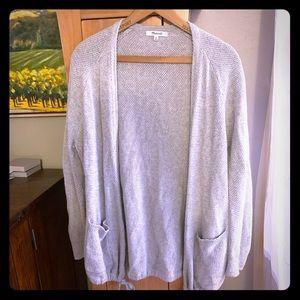 Madewell Cotton Open Cardigan Sweater